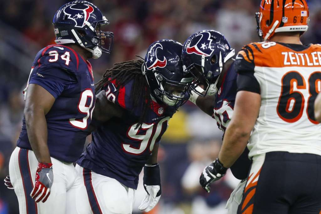 Texans win AFC South after defeating Bengals in a nail-biter,12-10
